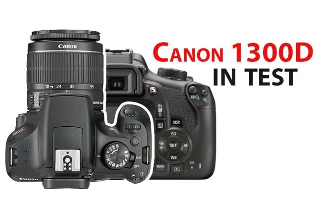 Canon 1300D in test la Clubul Foto