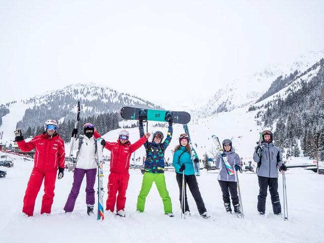 Echipa Aventurii National Geographic, in Zillertal