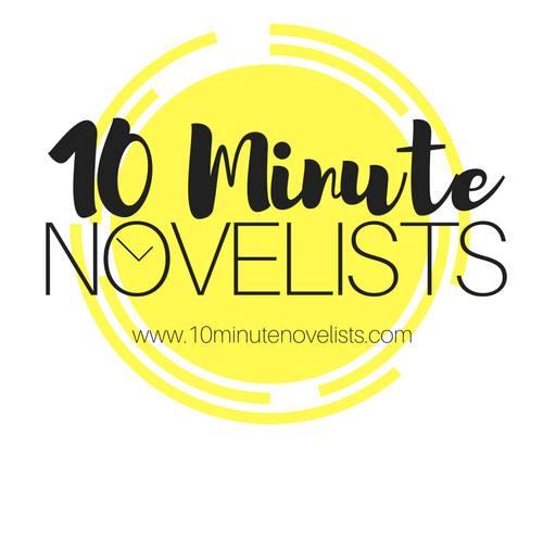 10 minute novelists logo
