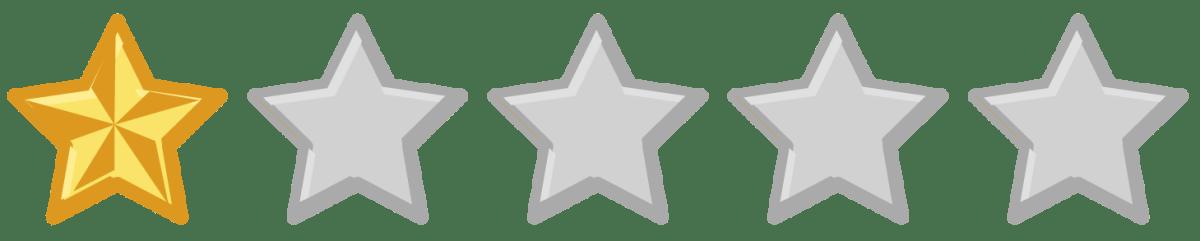 1-Star Rating Image
