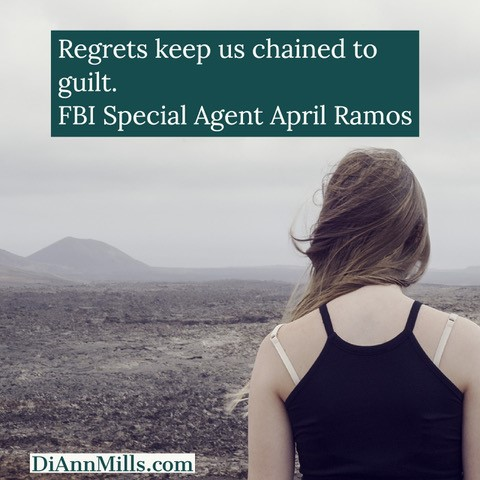"""Pull quote: """"Before they'd let me out of rehab someone had to agree to act as my legal custodian. There it is, the snappy truth about why, at the age of thirty-two, I live with my mother."""" FBI Special Agent April Ramos"""