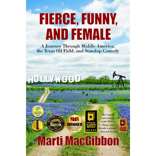 Fierce, Funny and Female Book Cover