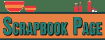 Scrapbook Page Header