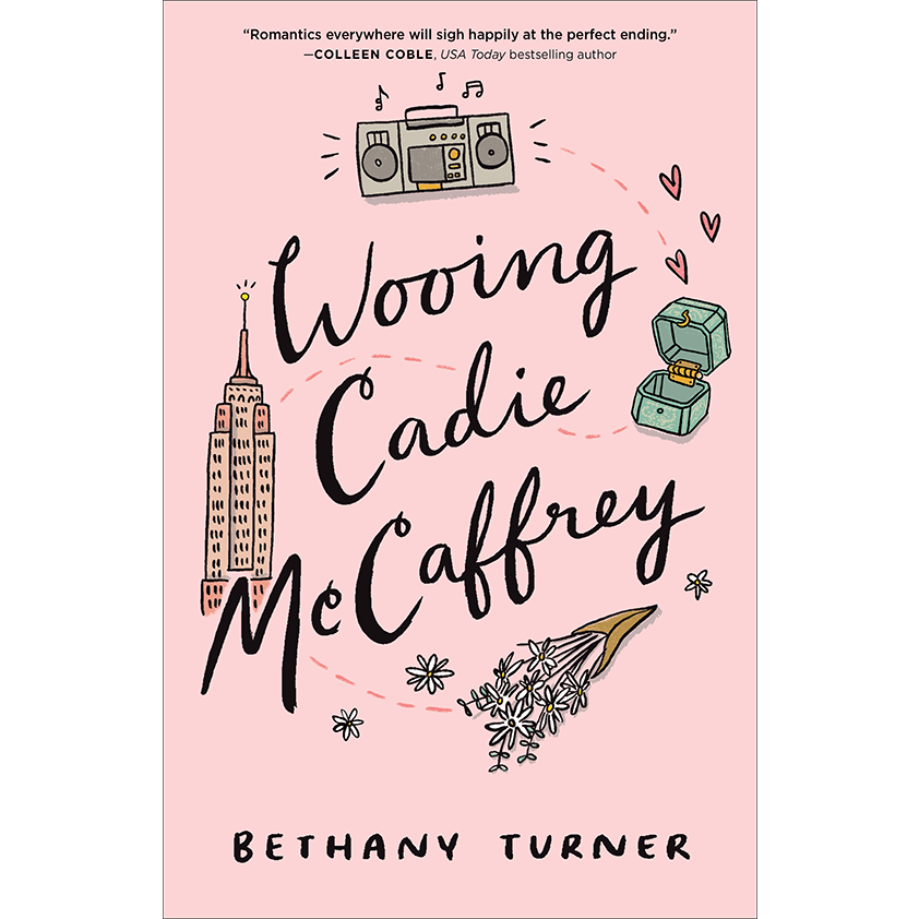 Wooing Cadie McCaffrey Cover