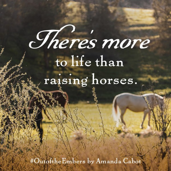 "Notable Quotable: ""There's more to life than raising horses."""