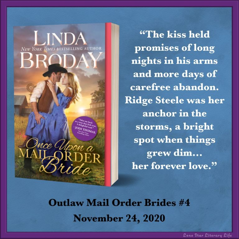 "Notable Quotable: ""The kiss held promises of long nights in his arms and more days of carefree abandon. Ridge Steele was her anchor in the storms, a bright spot when things grew dim...her forever love."""