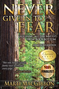 Cover of Never Give In to Fear