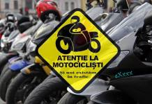 atentie la motociclisti