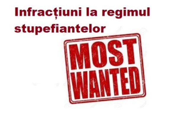 Cei mai căutați infractori din România, pentru infracțiuni la regimul stupefiantelor, așa cum apar ei pe site-ul oficial al Poliției Române.