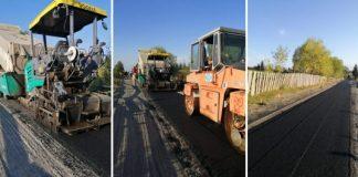A început asfaltarea drumului județean 107P