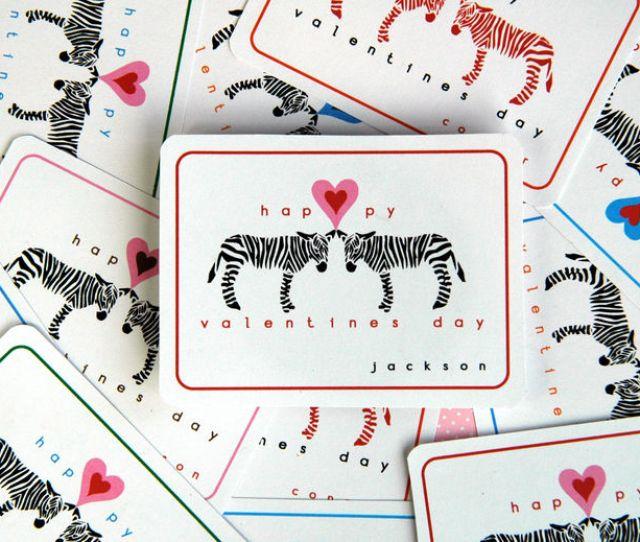 Zebra Valentines From Bunny Cakes
