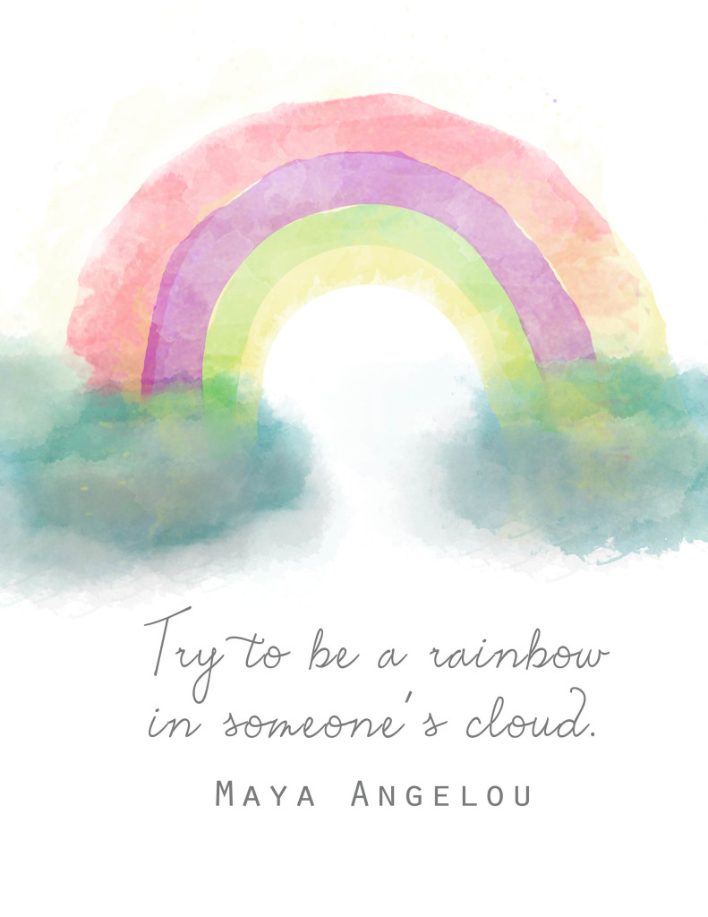 Free Fall Mobile Phone Wallpapers Being A Rainbow Maya Angelou Clumsy Crafter