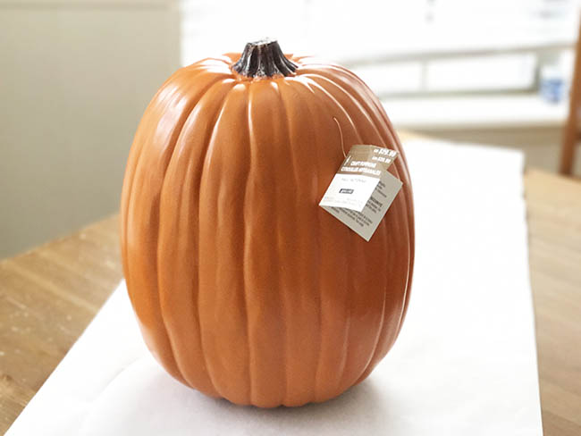 Craft Pumpkin For Painting Clumsy Crafter