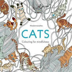 best cat coloring books for adults for cat lovers