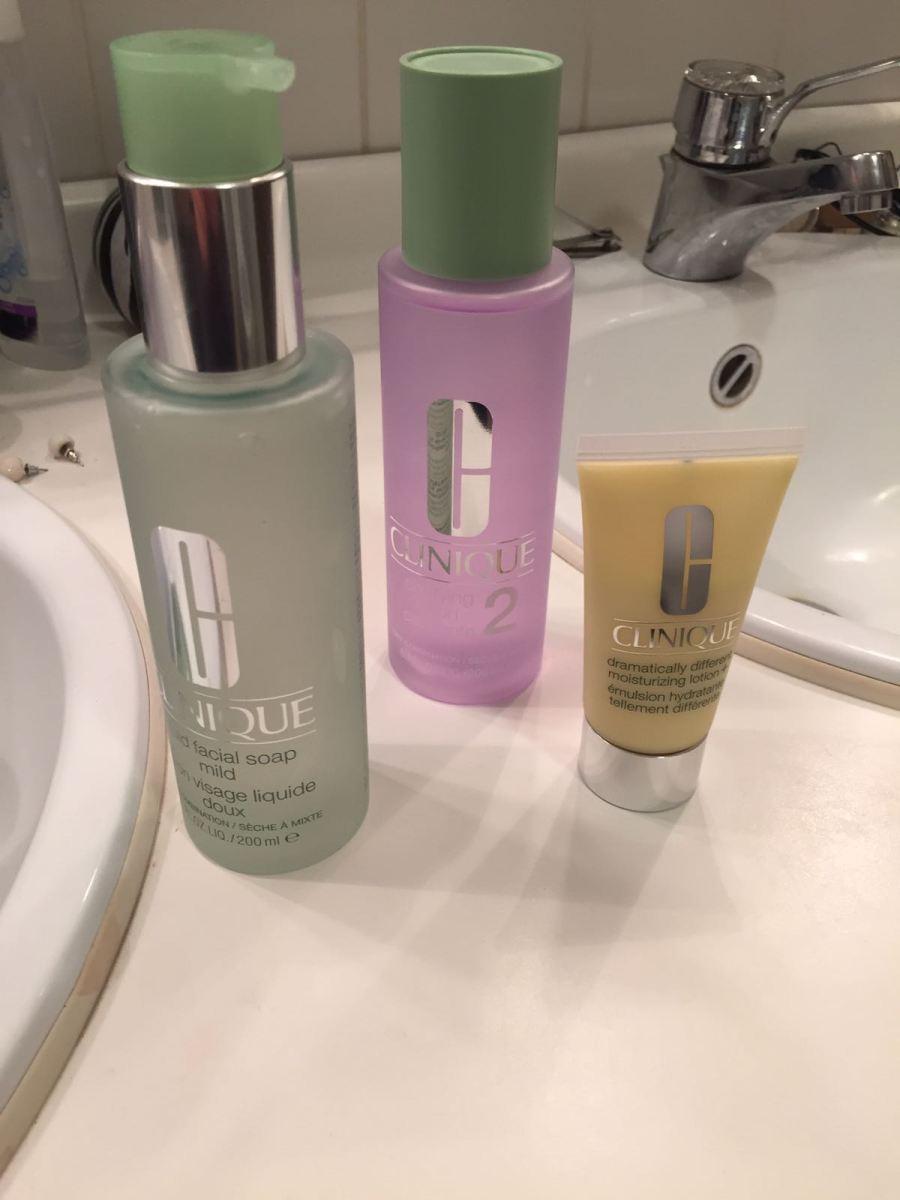 Je gezicht reinigen met Clinique 3-stappen