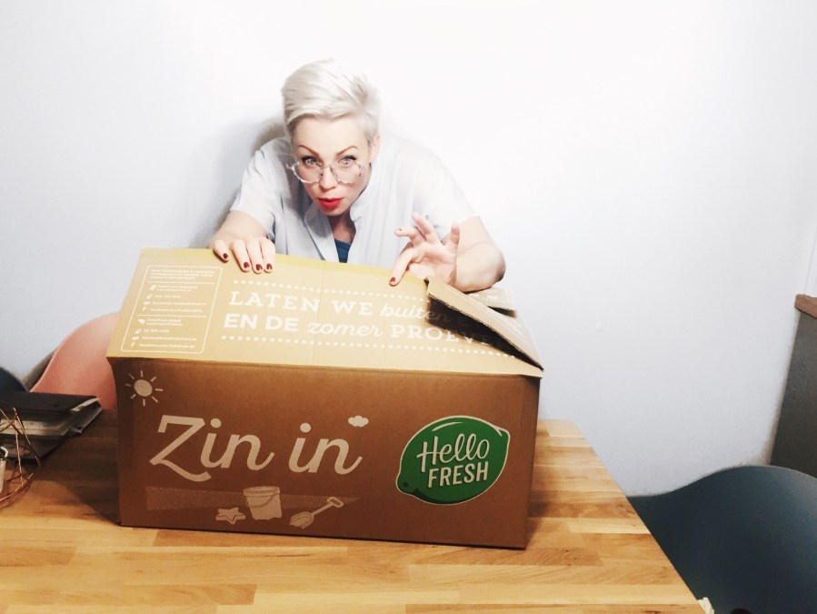 Unboxing Hello Fresh Veggie Box