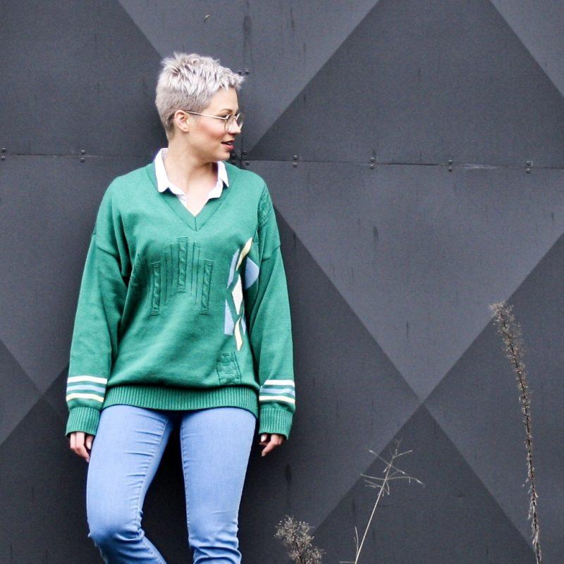 Scoor een vintage trui en get the 80's look | Outfit