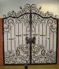 Wrought Iron gate designs on Pinterest | Wrought Iron ...
