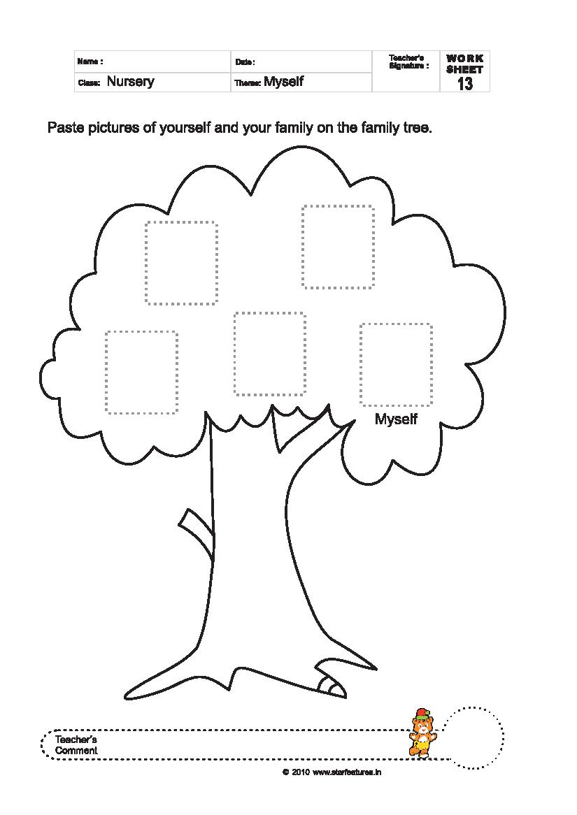 Free Pre-Primary Worksheets