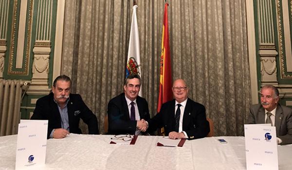 Convenio entre el Clúster Marítimo de Cantabria y la Liga Naval Española