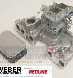details about toyota 20r 75 80 high perf torquer intake manifold w genuine weber 38 38 carb [ 1500 x 1239 Pixel ]