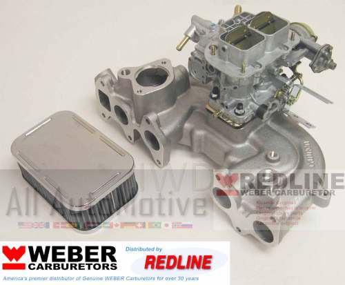 small resolution of details about toyota 20r 75 80 high perf torquer intake manifold w genuine weber 38 38 carb