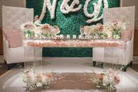 Acrylic Sweetheart Table | Carolina's Luxury Event Rentals