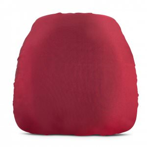 chair cushion cover dining chairs metal legs uk covers archives carolina s luxury event rentals fuschia matte satin request quote wedding rental nc