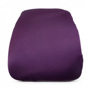 chair cushion cover rocking seat repair kit covers archives carolina s luxury event rentals eggplant matte satin
