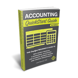 Accounting QuickStart Guide by Josh Bauerle available now from ClydeBank Media!