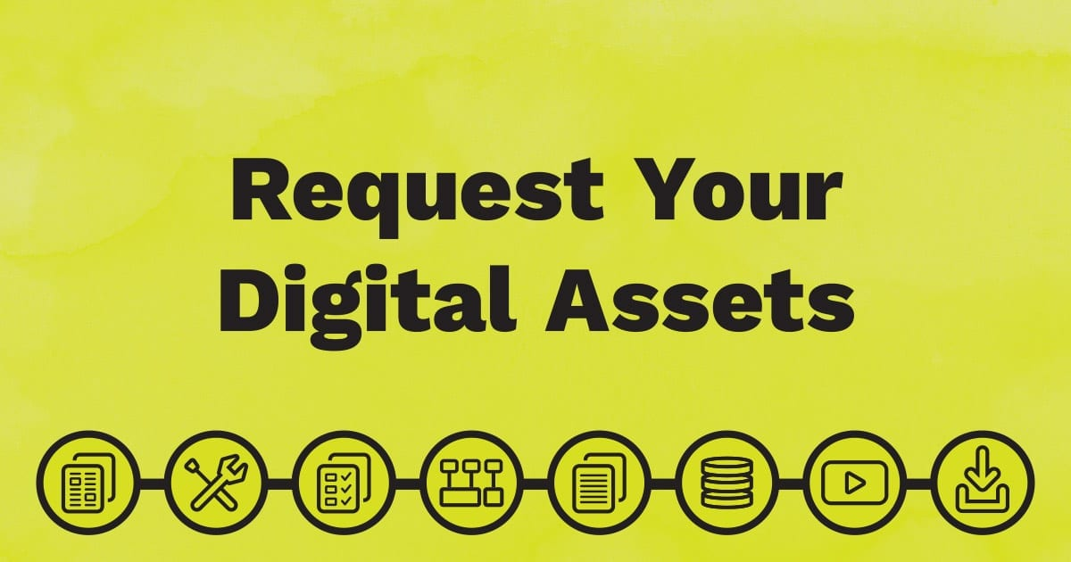Looking for the digital assets that come with your new QuickStart Guide? Use this page to find the right form and request your digital assets.