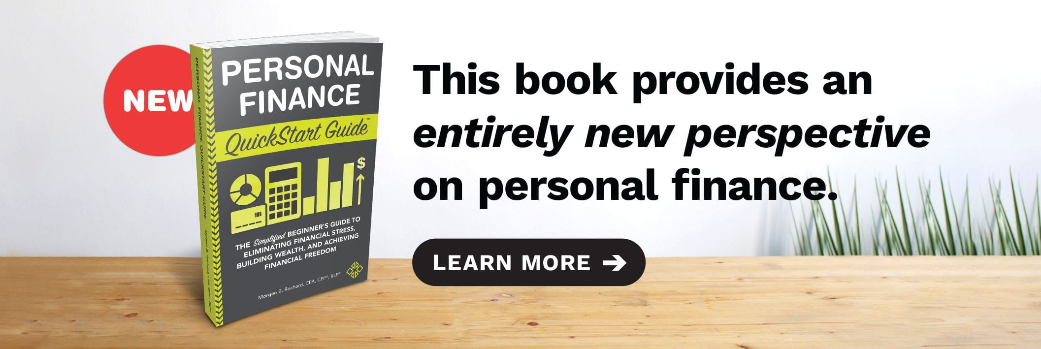 Out Now - Personal Finance QuickStart Guide. Finally, an entirely new perspective on personal finance.