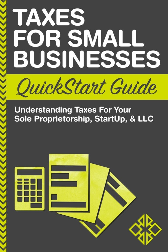 Taxes for Small Businesses Cover