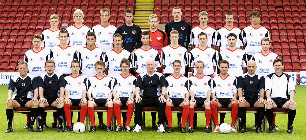 200809 Squad Picture  21 Jul 2008  News  Clyde