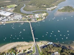 Starting point for Batemans Bay Paddle Challenge