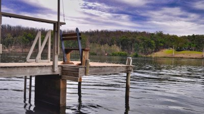 Imagine sitting at the end of your private jetty. Fish. Relax. Contemplate. Or clear your mind.