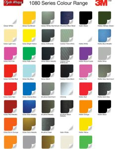 color chart colour change vinyl wraps clyde also gungoz  eye rh