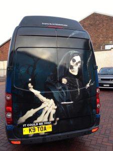 Grim Reaper Van