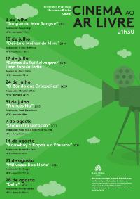 cinema ar livre cartaz 200