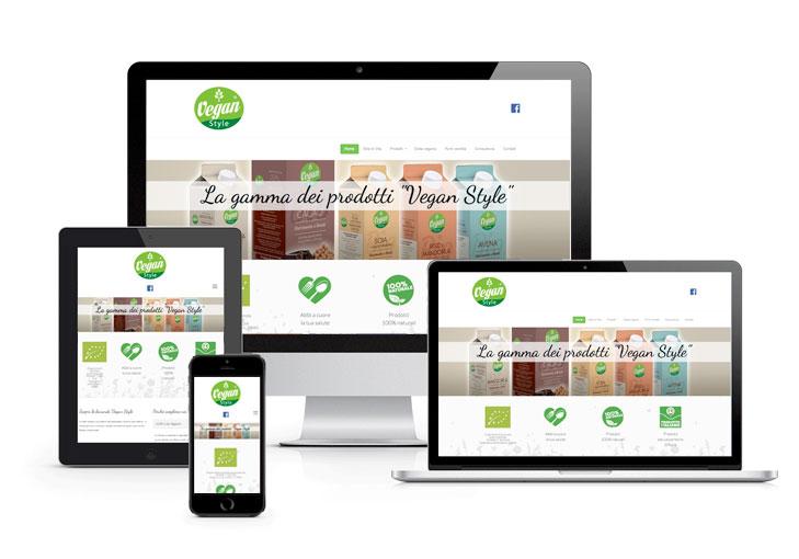 Sito web Vegan Style CM Comunicazione