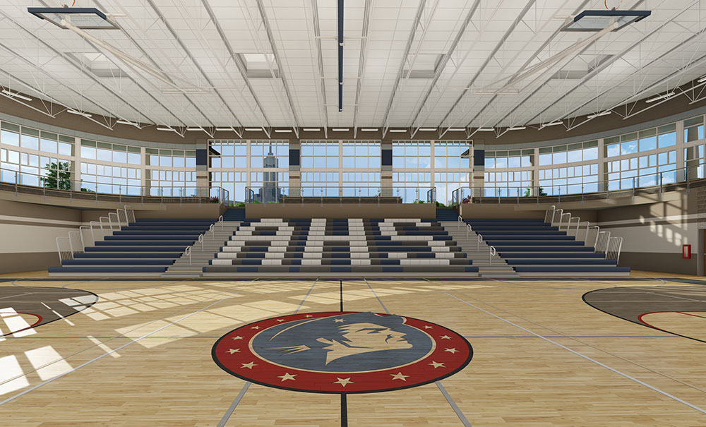 American Heritage School Athletic Facility  Curtis Miner