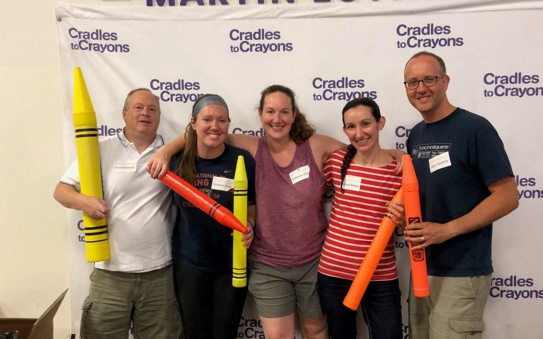 CMBG3 Cares Volunteers At Cradles To Crayons