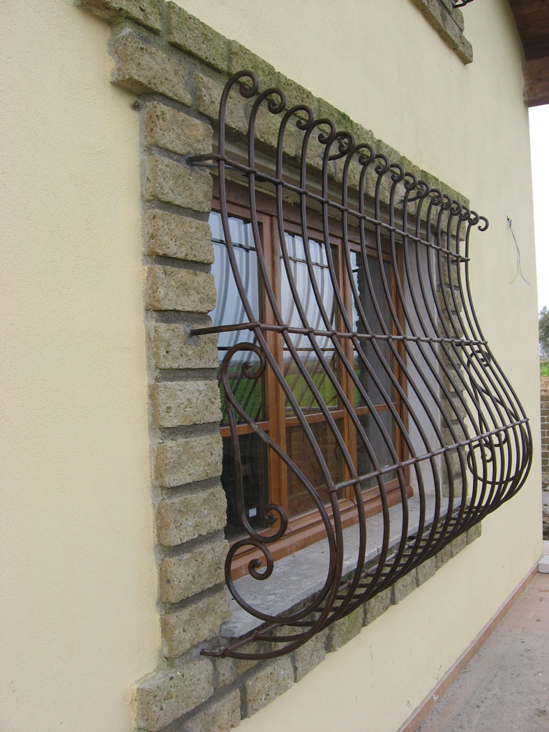 grate cmb infissi in ferro battuto lavorate artigianalmente