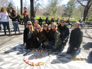 Imagine - John Lennon Denkmal im Central Park