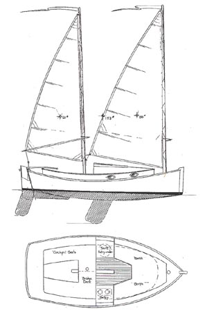 Rumaja: Next Pocket cruiser sailboat plans