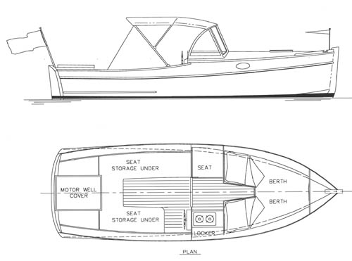 Roks Boat : Free Lightweight plywood boat plans