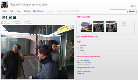 Flash Flickr, Free Image Gallery