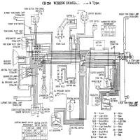 Diagrama honda cb750 71 k1 big