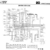 Diagrama honda cbx750f