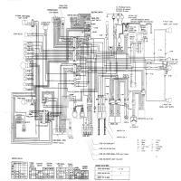 Diagrama honda gl500d